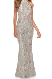 La femme Sequin Fringe Gown - Product Mini Image