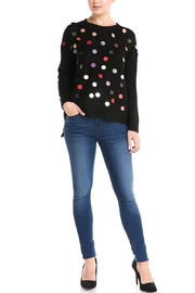 LOLA Sequin Front Sweater - Product Mini Image
