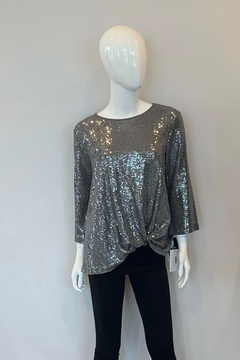 Clara sun woo Sequin Front Twist Top - Product List Image