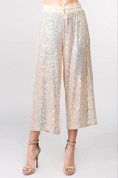 On Twelfth Sequin Gaucho Pant - Product List Image