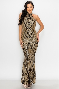 privy Sequin Gown - Product List Image