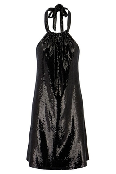 Bishop + Young Sequin Halter Dress - Alternate List Image