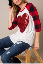 KITTY COUTURE  Sequin Heart Tunic - Product Mini Image