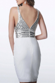 Jovani Sequin Jersey Dress - Product Mini Image