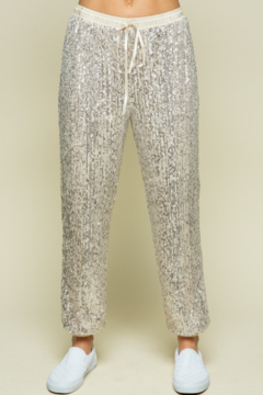 Style Rack  Sequin Jogger Pant - Product List Image