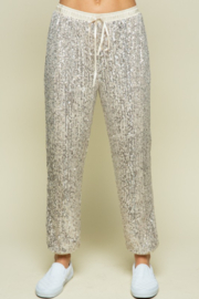 Style Rack  Sequin Jogger Pant - Product Mini Image