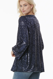 NYJD Sequin kimono - Side cropped