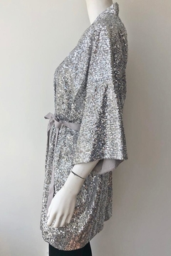 Emerson Fry Sequin Kimono - Alternate List Image