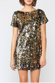 FATE  Sequin Leopard Dress - Product Mini Image
