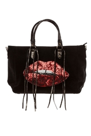Ah!dorned Sequin Lips Tote - Product Mini Image
