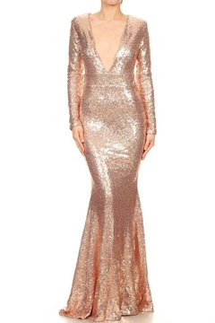 Xtaren Sequin Long Dress - Product List Image