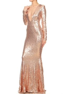 Xtaren Sequin Long Dress - Alternate List Image