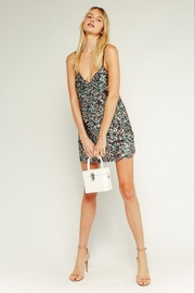 Olivaceous  Sequin Mini Dress - Side cropped
