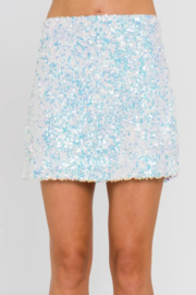 Endless Rose Sequin Mini Skirt - Front cropped