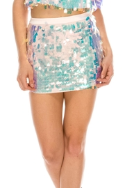 Mad For Love Sequin Mini Skirt - Product Mini Image