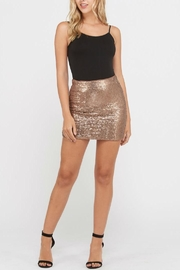Rosette Sequin Mini Skirt - Product Mini Image