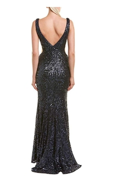 Issue New York Sequin Navy Gown - Alternate List Image