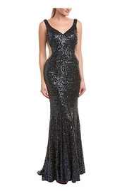Issue New York Sequin Navy Gown - Product Mini Image
