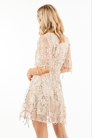 Very J Sequin Party Dress - Side cropped