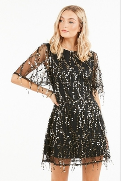 Very J Sequin Party Dress - Product List Image