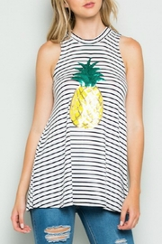 Clothing of America Sequin Pineapple Top - Product Mini Image