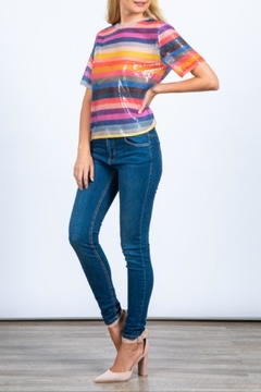 Hesperus Sequin Rainbow Top - Alternate List Image