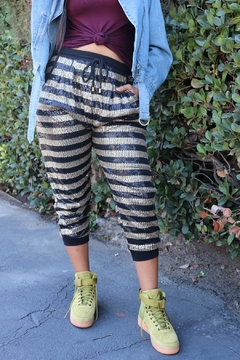 Minx Sequin Relaxed Joggers - Product List Image