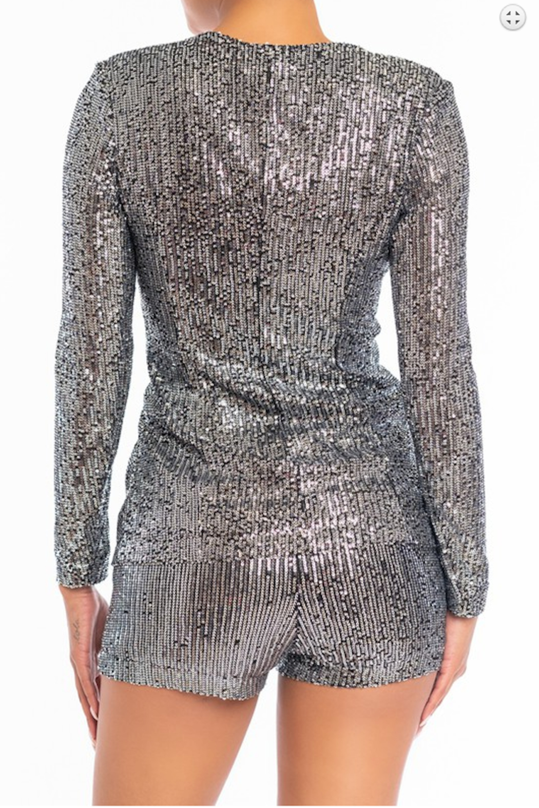 luxxel Sequin Short and Blazer Set - Main Image