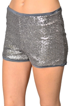 R+D Hipster Emporium  Sequin Shorts - Product List Image
