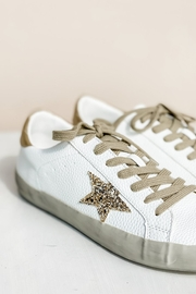 Shu Shop Shoes Sequin Star Sneakers - Back cropped