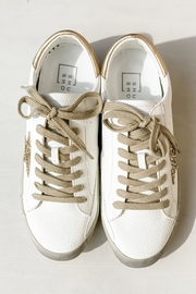 Shu Shop Shoes Sequin Star Sneakers - Front full body