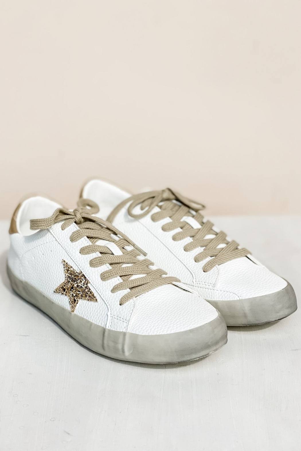 Shu Shop Shoes Sequin Star Sneakers - Main Image