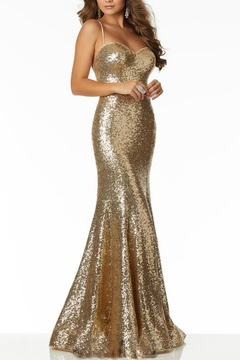 Shoptiques Product: Sequin Strappy Gown