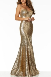 Morilee Sequin Strappy Gown - Product Mini Image