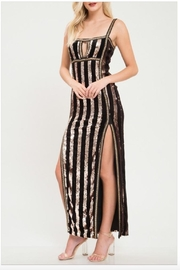 Latiste Sequin Striped Gown - Product Mini Image