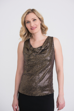 Joseph Ribkoff  Sequin Tank Top - Product List Image
