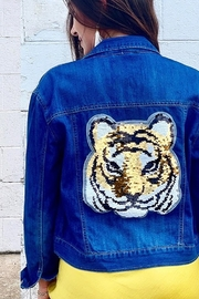Bella Bella  Sequin Tiger Jacket - Product Mini Image