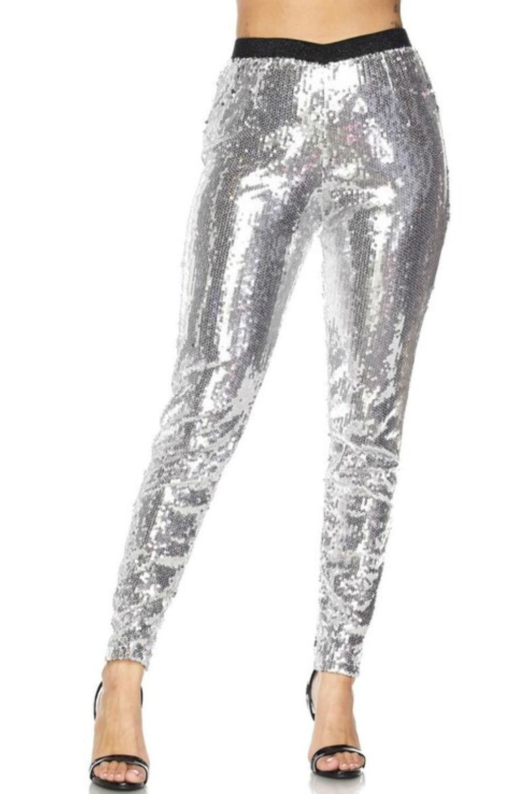 Hot & Delicious Sequin Tights - Main Image