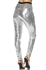 Hot & Delicious Sequin Tights - Side cropped