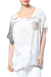 Madonna & Co Sequin Trim Tunic - Product Mini Image