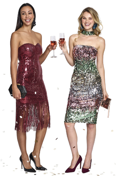 L'atiste Sequin Tube Dress - Product List Image