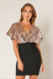 Wow Couture Sequin Twofer Dress - Product Mini Image