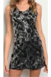 KIMBALS Sequined Black Dress - Product Mini Image
