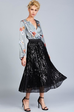 Shoptiques Product: Sequined Tulle Skirt