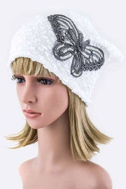 Nadya's Closet Sequins Butterfly Beanie-Hat - Product Mini Image