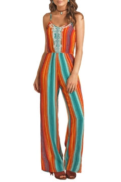 Rock & Roll Cowgirl Serape Jumpsuit - Product List Image