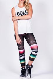 Brown Serape Legging - Product Mini Image