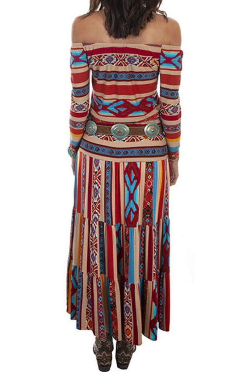 Scully Serape Maxi Skirt - Front Full Image