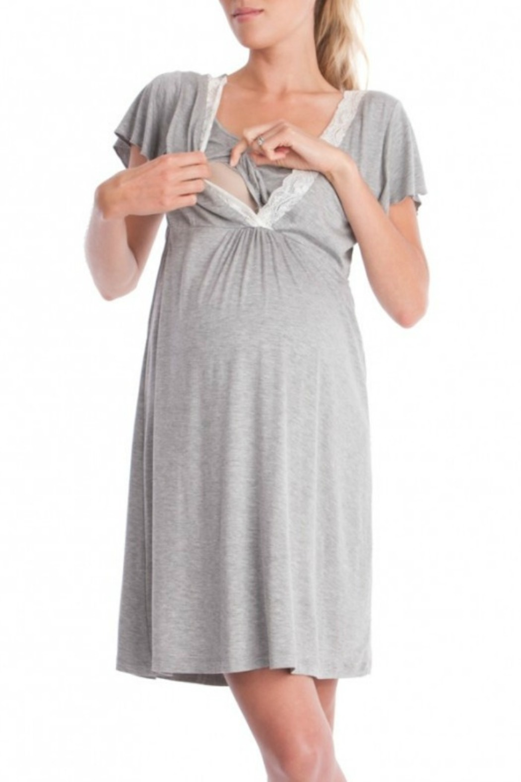 Famous Nursing Sleep Gown Photo - Wedding and flowers ispiration ...