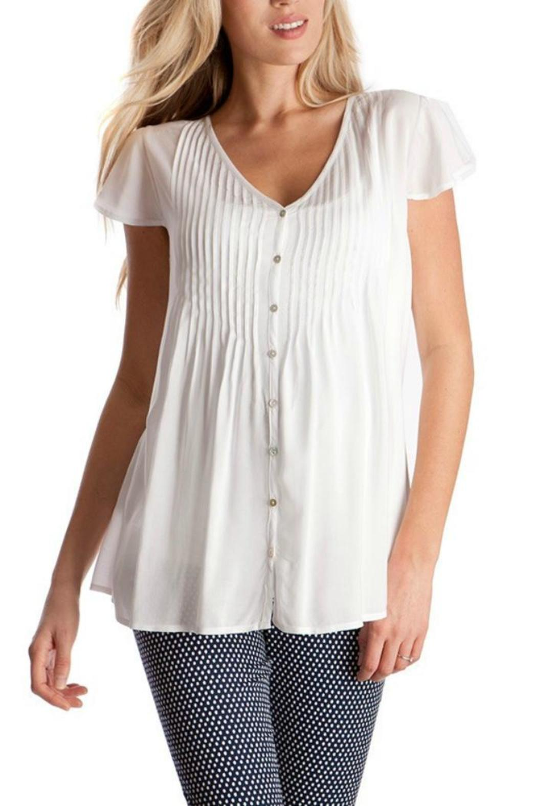 Seraphine Claudia Pintuck Blouse From Alabama By The